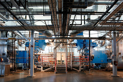OSU Energy Center cogeneration facility, Corvallis, OR