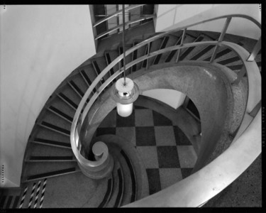 Main Stair, U.C. Print Shop, Berkeley, CA
