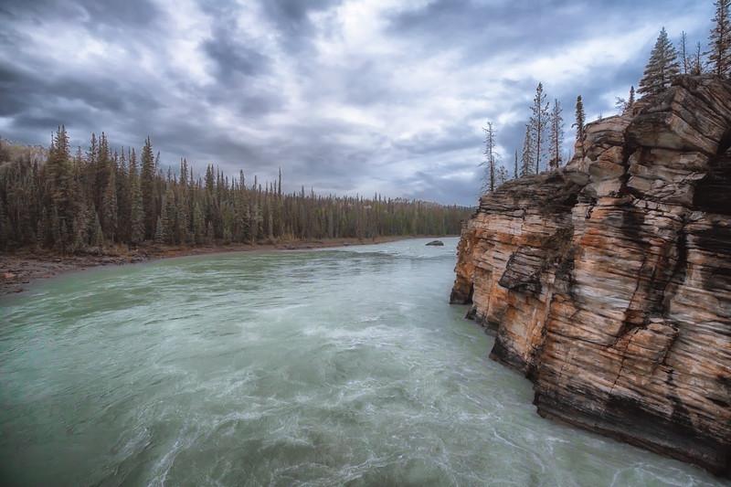 Athabasca River. (Landscape orientation.)
