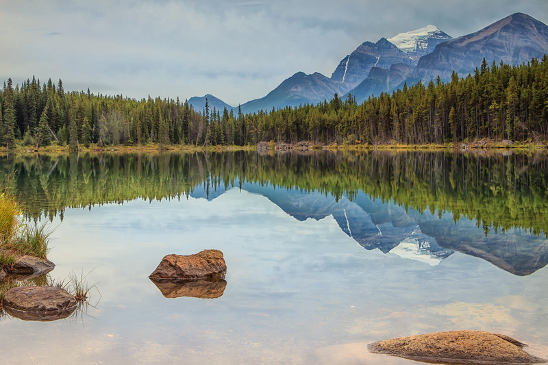 Reflections on the Icefields Parkway.