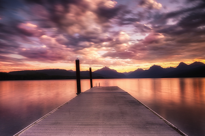 Lake McDonald Sunrise.