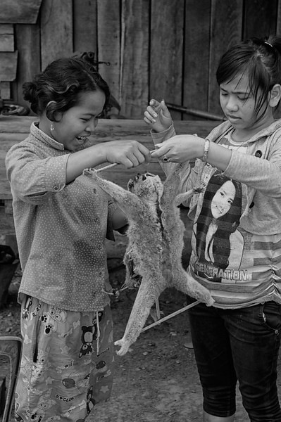 Loris Girls, Cambodia, 2011