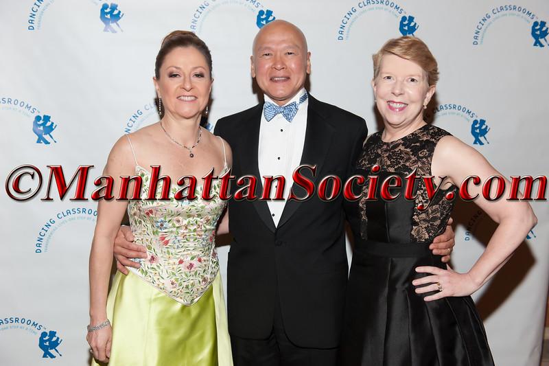 Jeannie Trouveroy, Harry Chung,   Mary Latimer-Chung