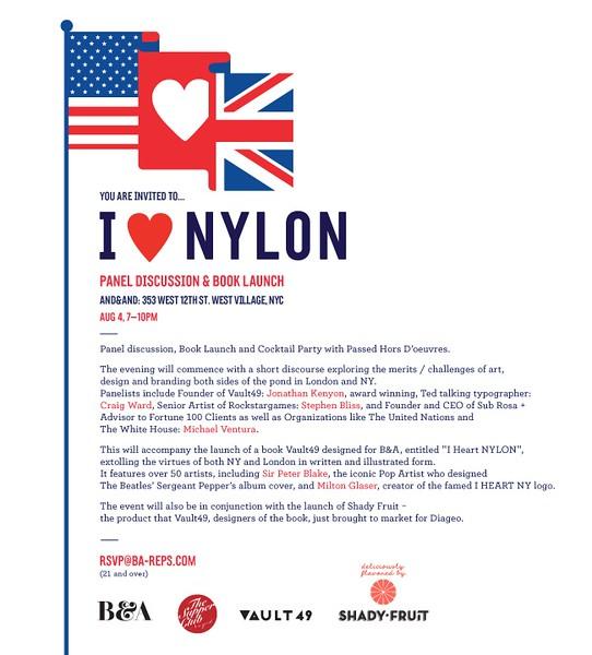 I HEART NYLON