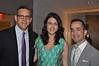 NY Philharmonic President Matthew VanBesien, YNY Chairman Stephanie Sirota, and Summer Benefit Host Inon Barnatan