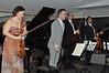 NYP Musician Yulia Ziskel, Summer Benefit Host Inon Barnatan, NYP Musician Alexei Gonzales, NYP Musician Remi Pelletier