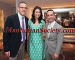 NY Philharmonic President Matthew VanBesien, YNY Chairman Stephanie Sirota, and Summer Benefit Host Inon Barnatan attend YOUNG NEW YORKERS FOR THE PHILHARMONIC SUMMER BENEFIT on Tuesday, June 16, 2015 at Upper Story by Charlie Palmer in the D&D Building, 979 Third Avenue, 14th Floor, New York City, NY 10022  (PHOTO CREDIT: Copyright © 2015 Manhattan Society.com by Christopher London)