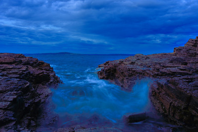 Sunrise at Fossil Cove