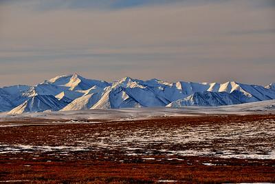 The Brooks Range, Seen from Toolik Lake