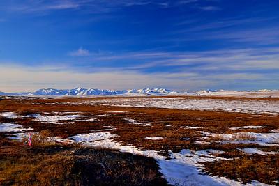 Brooks Range viewed from Toolik Lake