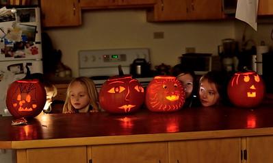 Halloween festivities at the Knoll