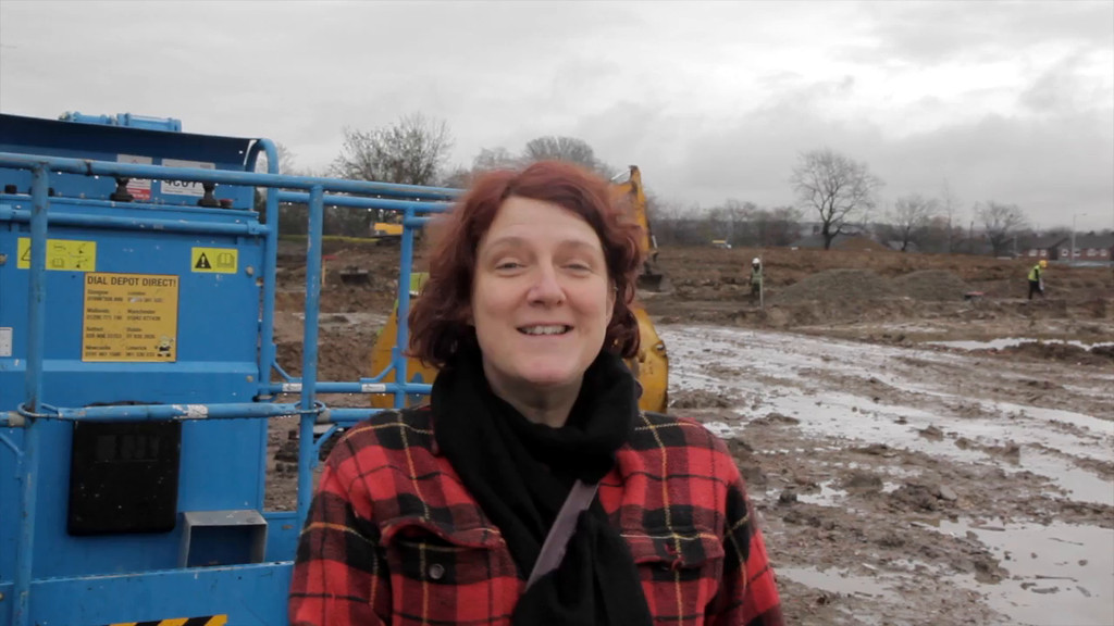 First report from the build 16th December 2013