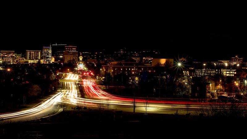 Boise Idaho Freeway