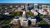 Boise state capital building and skyline