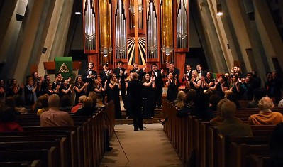 Motets & More -UConn Chamber Singers and Collegium Musicum - Stamford Fish Church