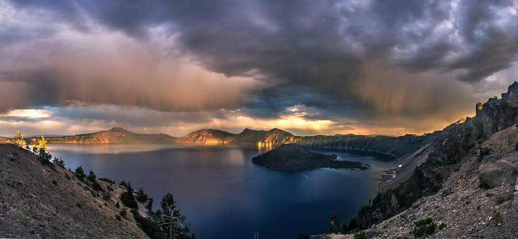 Storming Over Crater Lake