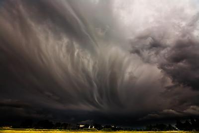 Storm in Ennis, Montana.
