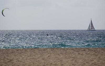 Cape Verde beach.