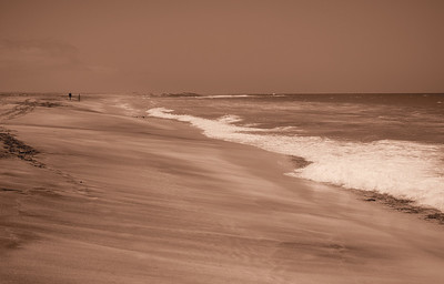 Cape Verde beach. Spectacular, clean and people free. Mood added via the Gentle Sepia art filter.