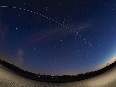 ISS wide angle