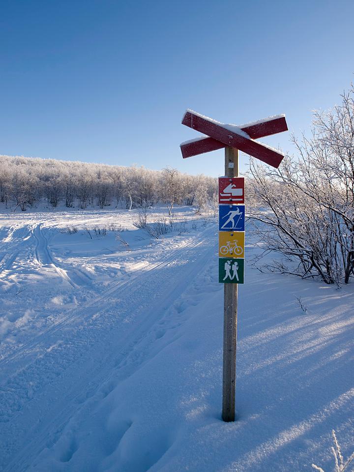Skidoo route.