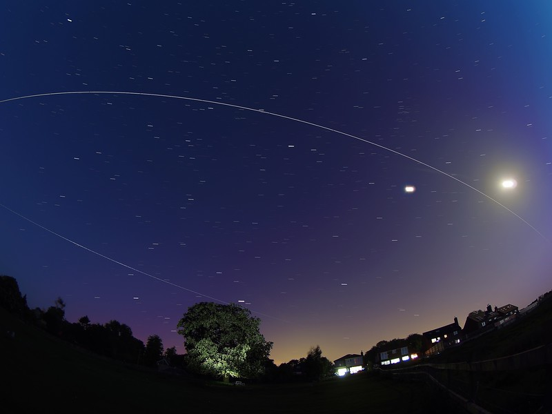 ISS double flyby 22/23 May 2018