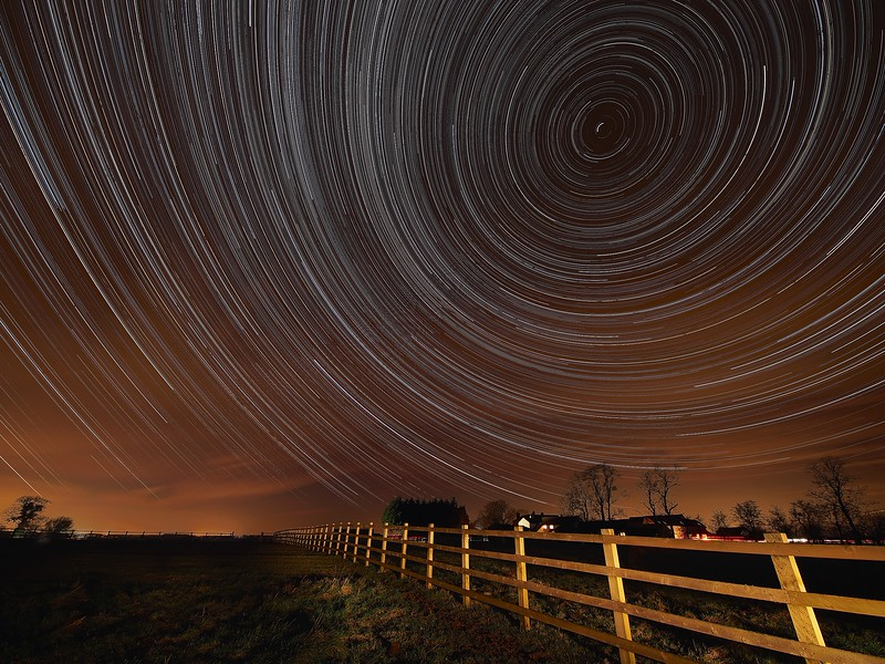 Lutterworth Star Trail