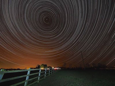 Brumby Star Trail