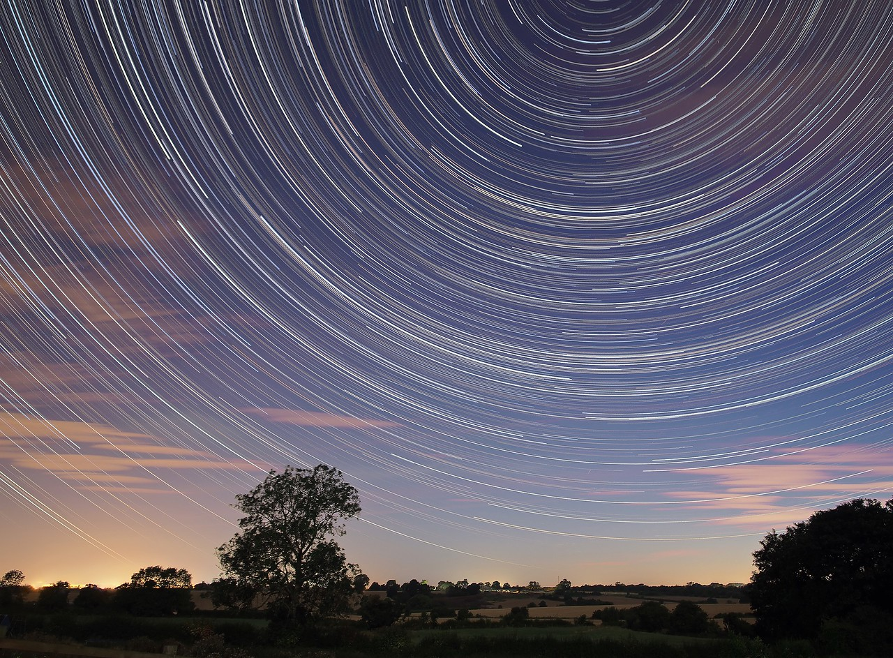 Perseid Startrail