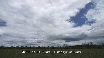 May 11 2010 time lapse. Spring northerlies still biting. Love the rolling Cu and some nice turbulence towards the end of the vid.