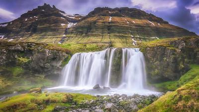 Midnight Waterfall