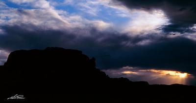 Rays of Utah