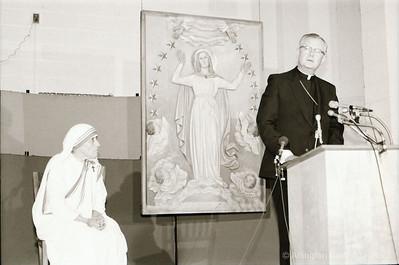 Mother Teresa visits Washington and Arlington  in 1981-82