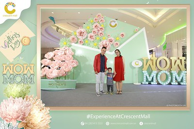 """""""WOW MOM"""" Mother's Day Activation Photo Booth - Experience At Crescent Mall - Instant print photo booth - Chụp hình in ảnh lấy liền Ngày của Mẹ"""