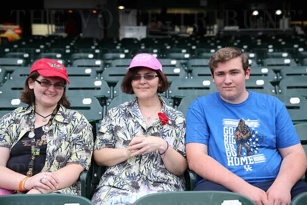 Mothers Day at the Bats Game
