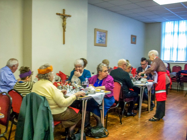 Mothers' Union Christmas Lunch 2015