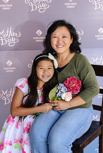 Saddleback Irvine South Sunday Worship - Mother's Day portrait - photo by Sherry Siu 2015-05-10