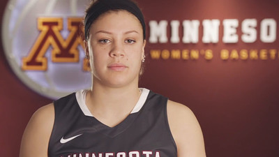 Gopher Women's Basketball Headshot