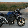 My Yamaha FZ1 at Pine Island in Florida