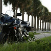 Award winning photo of my Yamaha FZ1 on a causeway in Tampa Bay. No really, it won an award.