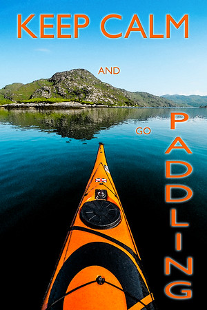 Scottish sea kayaking, an antidote to life