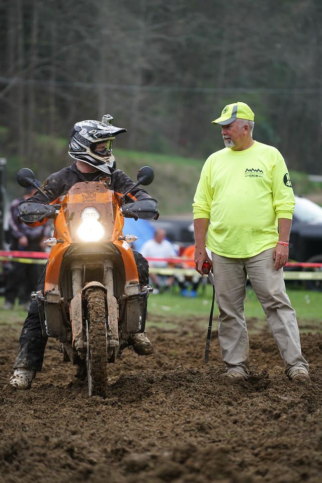 Matt Kelly and judge Russell Kruse