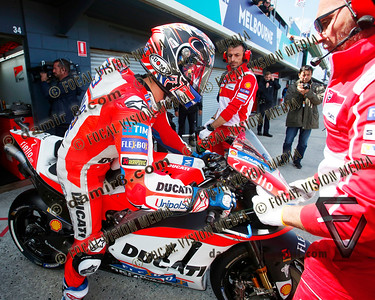 World Moto GP Championship. Round16 @Phillip Island. Australia. Michelin Australian Motorcycle Grand Prix.  Friday. 20.10.2017. #4 Andrea DOVIZIOSO (ITA) Ducati Team, during morning practice. © ATP / Damir IVKA