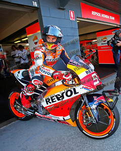 World Moto GP Championship. Round16 @Phillip Island. Australia.  Michelin Australian Motorcycle Grand Prix.  Friday. 20.10.2017.  #93 Marc MARQUEZ (ESP) Repsol Honda Team, during morning practice.  © ATP / Damir IVKA