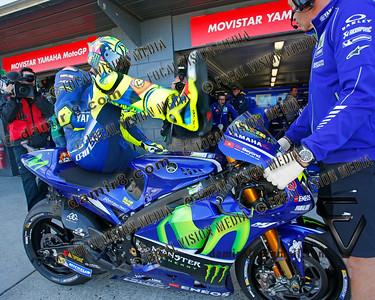 World Moto GP Championship. Round16 @Phillip Island. Australia. Michelin Australian Motorcycle Grand Prix.  Friday. 20.10.2017. #46 Valentino ROSSI (Ita) Movistar Yamaha MotoGP, during morning practice. © ATP / Damir IVKA