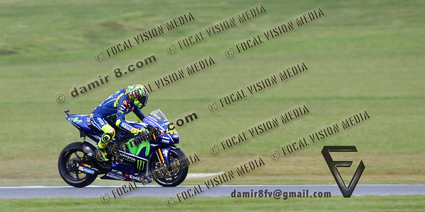 World Moto GP Championship. Round16 @Phillip Island. Australia.  Michelin Australian Motorcycle Grand Prix. Satarday. 21.10.2017.  #46 Valentino ROSSI (Ita) Movistar Yamaha MotoGP, during mornings practice 3. © ATP / Damir IVKA