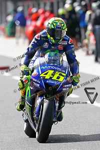 World Moto GP Championship. Round16 @Phillip Island. Australia.  Michelin Australian Motorcycle Grand Prix. Satarday. 21.10.2017.  #46 Valentino ROSSI (Ita) Movistar Yamaha MotoGP. © ATP / Damir IVKA
