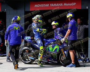 World Moto GP Championship. Round16 @Phillip Island. Australia. Michelin Australian Motorcycle Grand Prix. Satarday. 21.10.2017. #46 Valentino ROSSI (Ita) Movistar Yamaha MotoGP.© ATP / Damir IVKA
