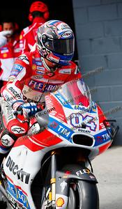 World Moto GP Championship. Round16 @Phillip Island. Australia. Michelin Australian Motorcycle Grand Prix. Satarday. 21.10.2017. #4 Andrea DOVIZIOSO (ITA) Ducati Team.© ATP / Damir IVKA