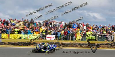 World Moto GP Championship. Round16 @Phillip Island. Australia. Michelin Australian Motorcycle Grand Prix. Sunday. 22.10.2017. #46 Valentino ROSSI (Ita) Movistar Yamaha MotoGP, rossi finished 2nd in the race.© ATP / Damir IVKA